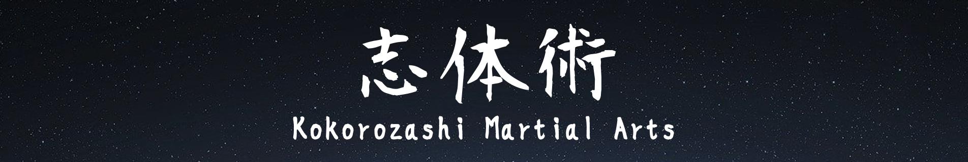 志体術(kokorozashi martial arts)